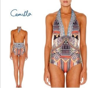 NEW Camilla Dance of the Dao Halter Swimsuit
